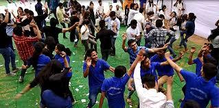 College Festival Rangarang'17 Holi Ramanujan Of The