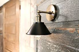 sconces pendant sconce lighting and fixtures flat black metal shade 7 inch wall sconces