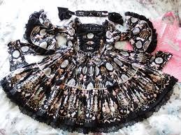 d s angelic pretty sweetie chandelier op choker in black egl comm s