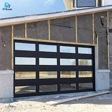 glass garage door china glass garage