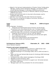 steve resume updated  production environment 5