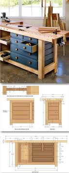 Shaker Workbench Plans - Workshop Solutions Projects, Tips and Tricks -  Woodwork, Woodworking, Woodworking Plans, Woodworking Projects