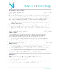 Junior Web Developer Cv Examples Design Resume Graphic Designer