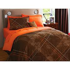 orange and brown bedding. Beautiful Brown On Orange And Brown Bedding