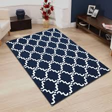 absolutely smart blue and white area rug 6