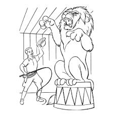 Leuk Voor Kids Circus Kleurplaten