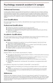 Undergraduate Resume Sample Resume Of A Child Psychologist