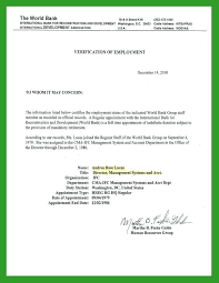 Employment Income Verification Letter Zero Sample Tax Refund Example ...