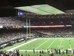 New Orleans Saints Superdome Seating Chart Superdome Section 145 New Orleans Saints Rateyourseats Com