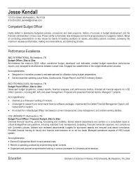 executive director finance resume sample