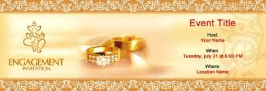 Free Engagement Invitation With Indias 1 Online Tool