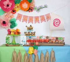 27 Disney Moana Birthday Party Ideas Pretty My Party Party Ideas