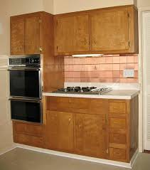 Kitchen cabinets wood Lowe Wood Kitchen Cabinets Homecrest Cabinetry Wood Kitchen Cabinets In The 1950s And 1960s