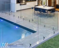 600x1200x12mm hinge panel diy frameless glass pool fencing from 158 m sydney