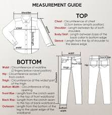 Online Shirt Size Chart Giordano Online Store