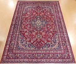 hand knotted wool red navy blue oriental rug carpet 8 x safavieh savannah vintage