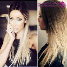 hair color blonde ombre on black hair short highlights dark diy light ash beyonce