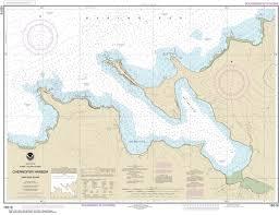 16516 Chernofski Harbor Alaska Nautical Chart