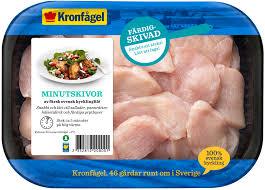 Den 20 mars 2009 hittades en glasbit i ett paket fryst kyckling från kronfågel. Kronfagel Minutskivor Kronfagel