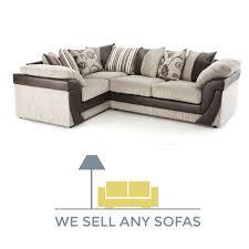 roma jumbo cord corner sofa mink brown