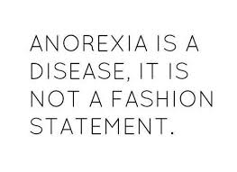 Anorexia Quotes Unique Anorexia Is NOT A Fashion Statement DScribe