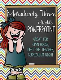 The Brainy Bunch Powerpoint Open House Curriculum Night
