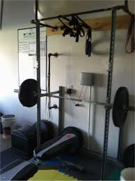 delectable homemade unistrut bench and squat rack w pullup bar hoist weight bench
