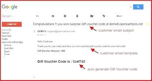 Customized Gift Certificates Gift Certificate Template Email Voucher Now Introducing Gift