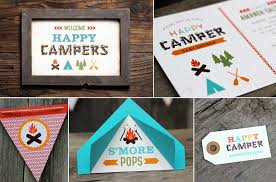 Camp First Birthday Party Ideas  POPSUGAR MomsCamping Themed Baby Shower Invitations