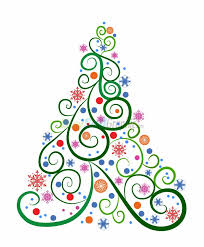 christmas tree vector black and white. christmas tree vector graphic royalty free download buysellgraphic. black and white