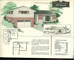 factory built houses 28 pages of lincoln homes from 1955 retro 1950 ranch style house plans