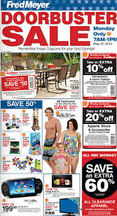 Fred Meyer Memorial Day Sale Doorbuster Sale 7 am 1 pm