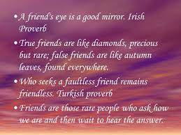 Proverb Friend