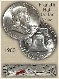 1960 Franklin Half Dollar Value Discover Their Worth