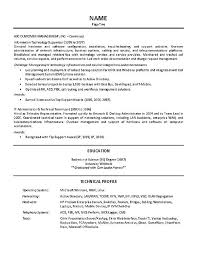 Team Leader Resume Principal Print Technology It Supervisor Example