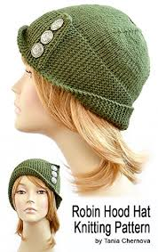 Womens Knit Hat Pattern
