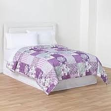 Bedding: Quilts - Kmart & Essential Home Printed Quilt - Purple Patch Adamdwight.com