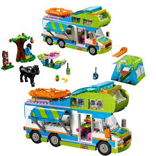 lepin 01062 friends motorhome and cers building blocks toys as children s gifts legoingly 41339 rv