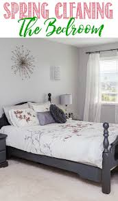 Bedroom Spring Cleaning Checklist Clean And Scentsible Inspiration How To Clean Bedroom Walls