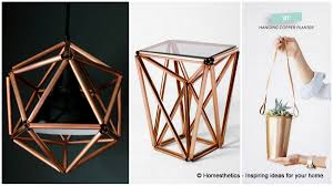 60 incredible delicate diy copper projects to add grace to your home