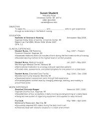 Restaurant Resume Objectives 14 10 Server Sample Writing