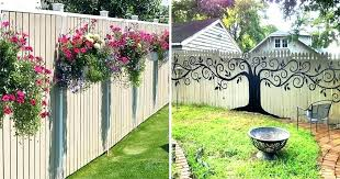 outdoor fence decor backyard fence decor ideas backyard fence decor fence decorating ideas outdoor fence decor