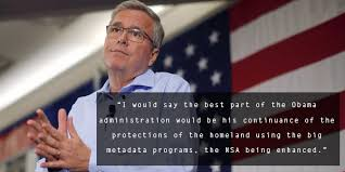 Jeb Bush Quotes Inspiration TLDR Jeb Bush Applauds Obama's Surveillance Expansion