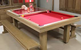 light oak pool dining table toulet 2 ed by r0chdi