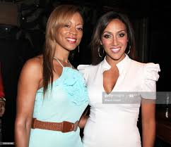 Bridgette Smith and Melissa Gorga attend the Skinny Sipping Seminar... News  Photo - Getty Images