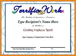 Online Certificates Free Employee Appreciation Certificate Recognition Certificates Templates