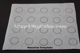 Macaron Guide Sheet Macarons Complete And Fully Illustrated Step By Step