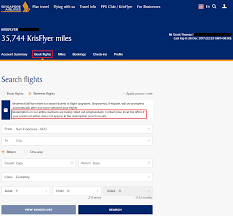 Sq Krisflyer Miles Chart Singapore Airlines Award Booking Tip Add Redemption Nominee