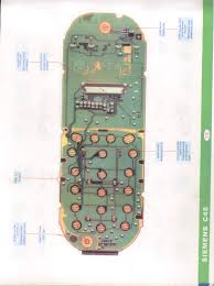 Siemens C45 Circuit Board Details