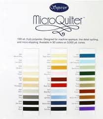 Omni Color Chart Kingsmen Quilting Supply